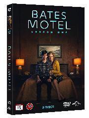 Kansikuva Bates motel.