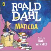 Kansikuva Roald Dahl: Matilda, äänikirja
