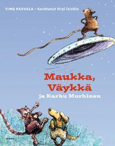 Maukka, Väykkä -kirjat