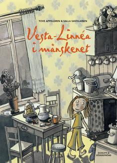 Vesta-Linnea i månskenet