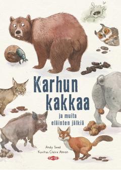 Karhun kakkaa ja muita eläinten jälkiä