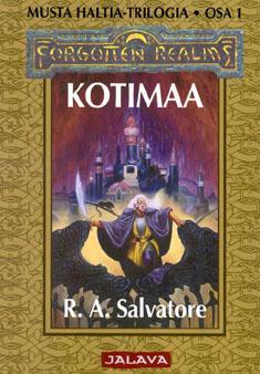 Salvatore, R. A.: Musta haltia -trilogia