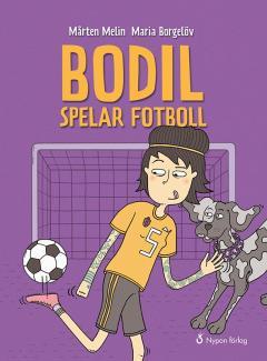 Bodil spelar fotboll