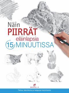 Näin piirrät eläinlapsia 15 minuutissa